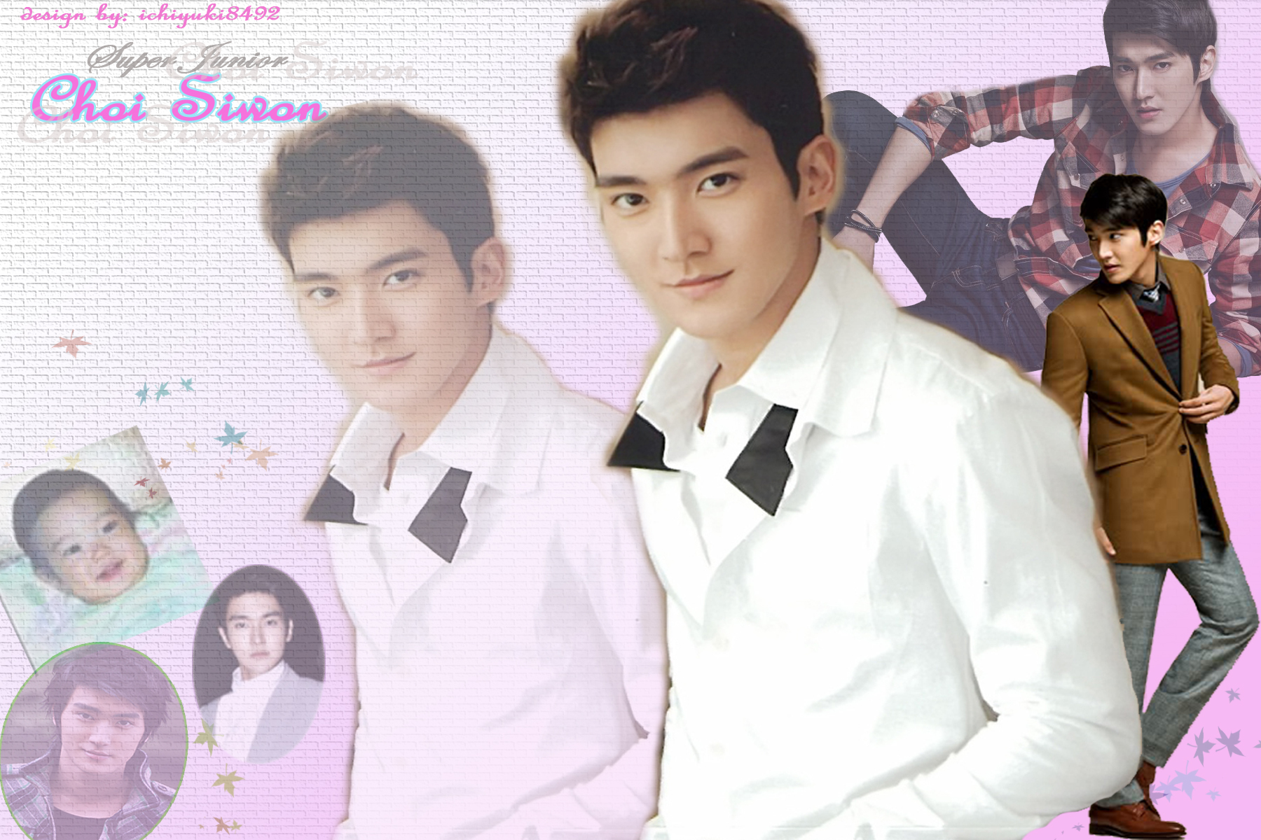 Wallpaper Siwon Super Junior  Baby Clouds