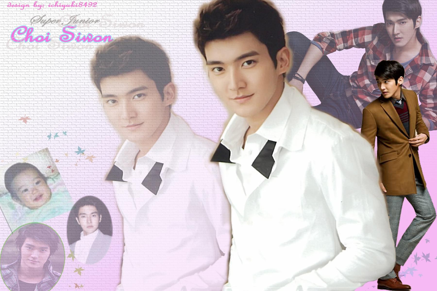 Wallpaper Siwon Super Junior  Baby Clouds